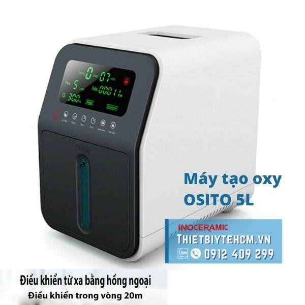 Máy tạo oxy gia đình - Máy cấp oxy OSITO 5L | Thiết bị y tế TPHCM