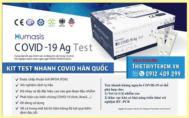 Đặc điểm nổi bật của bộ kit test Covid Humasis