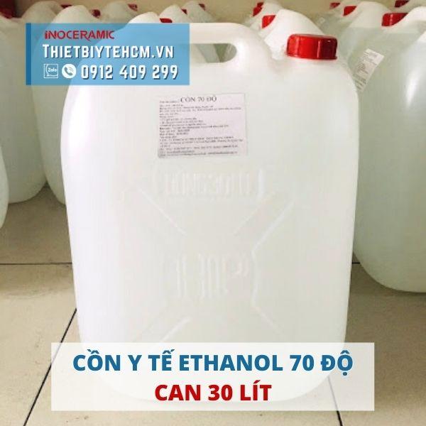 Cồn y tế sát khuẩn 70 độ - Cồn Ethanol can 30 lít