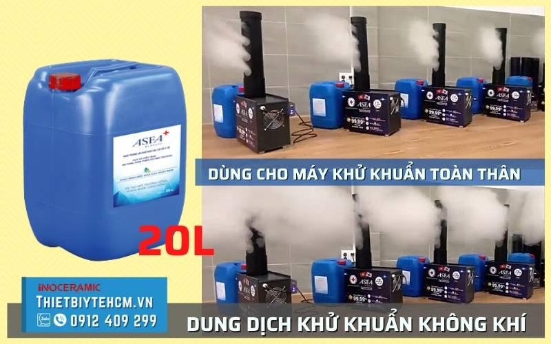 Nước ASFA sử dụng cho máy phun khử khuẩn gia đình, văn phòng