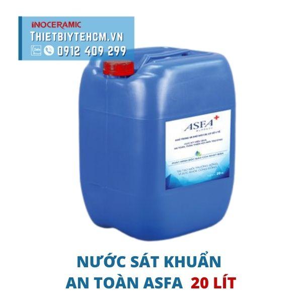 Dung dịch sát khuẩn an toàn ASFA can 20 lít
