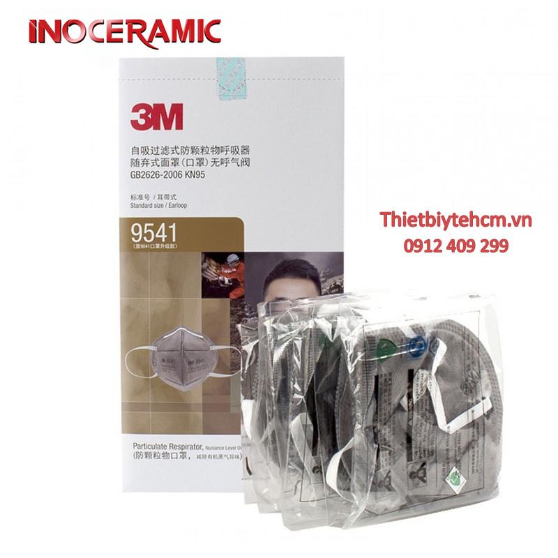 Khẩu trang 3M - 9541   Khẩu trang chống virus phòng dịch