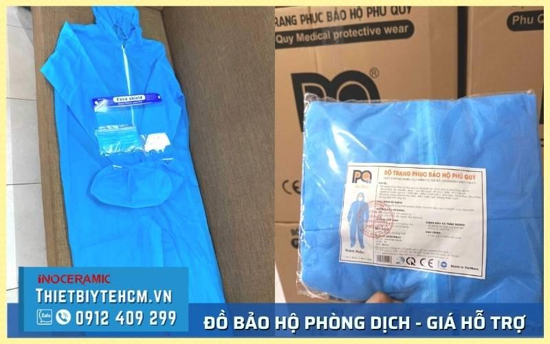 Mua bộ đồ bảo hộ covid giá sỉ số lượng nhiều tại Tphcm
