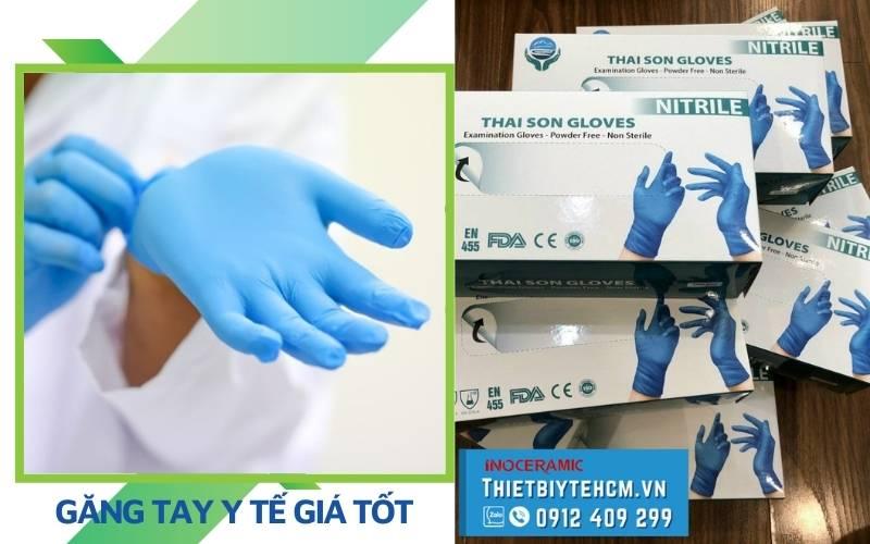 Mua găng tay y tế giá sỉ mùa dịch ở đâu TPHCM?