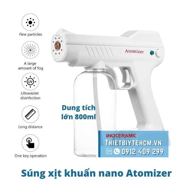 Súng phun xịt khuẩn nano Atomizer