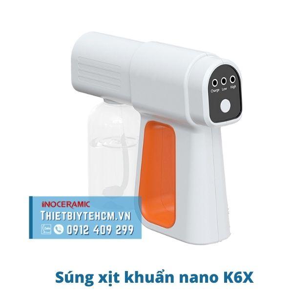 Súng phun xịt khử khuẩn nano K6X