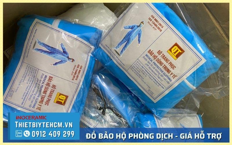 Mua quần áo bảo hộ phòng dịch giá sỉ tại TPHCM - Hỗ trợ tuyến đầu