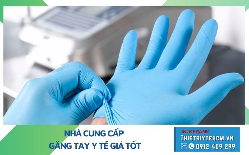 Giá găng tay y tế nitrile - Nhà cung cấp găng tay y tế giá tốt TPHCM