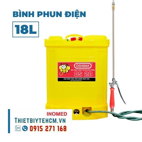 Bình phun khử khuẩn điện 18L