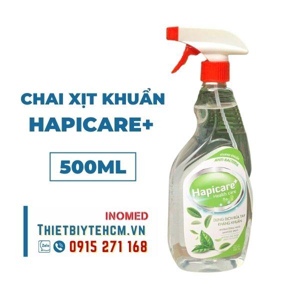 Chai xịt khử khuẩn Hapicare+ 500ml