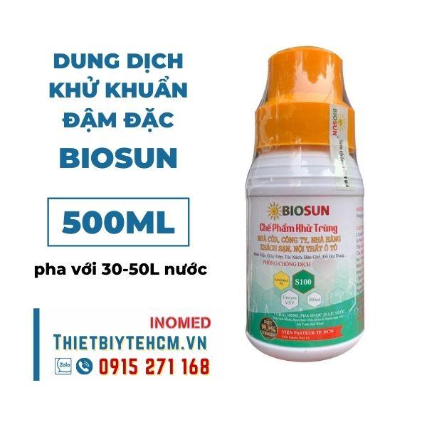 Dung dịch khử khuẩn đậm đặc BIOSUN (chưa pha) 500ML
