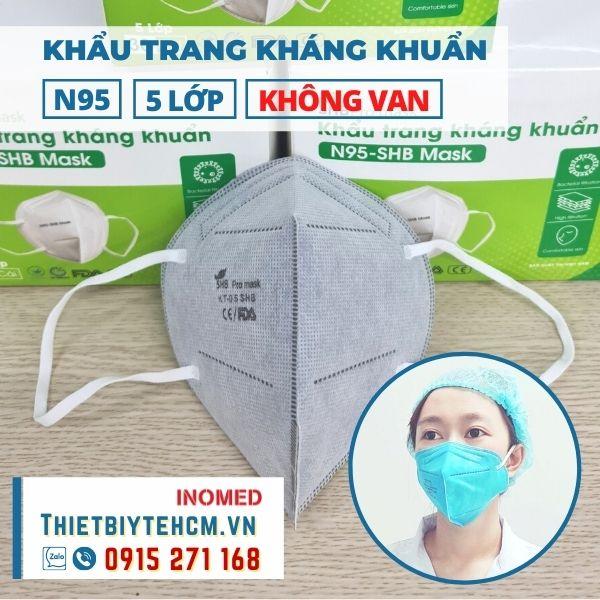 Khẩu trang kháng khuẩn VN95 không van - SHB mask