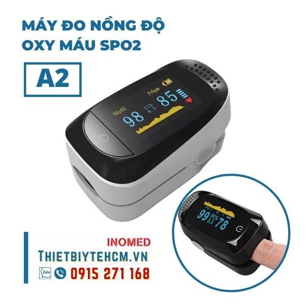 Máy đo nồng độ oxy máu SPO2 mẫu A2