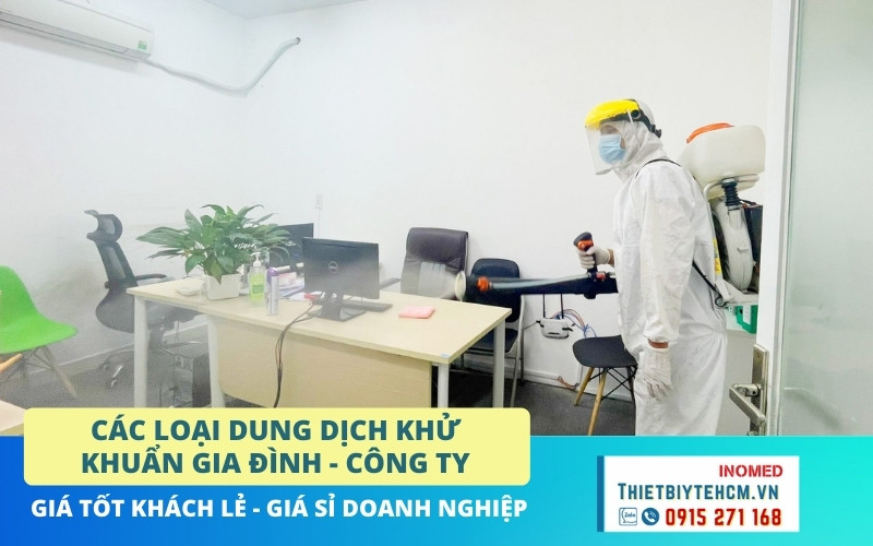 Vì sao nên phun khử khuẩn thường xuyên cho văn phòng, công ty?