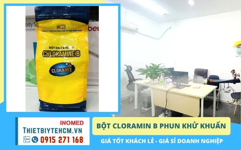 Dung dịch khử khuẩn cloramin b là gì?